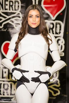 Star Wars Stormtrooper - Comikaze 2014 #Cosplay by LeeAnna Vamp