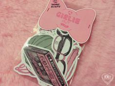 Girlie Stuff Stickers (7.20 EUR) by lOll3SHOP