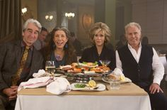 Jane Fonda and Lily Tomlin Star in Grace and Frankie on Netflix with Martin Sheen and Sam Waterston!