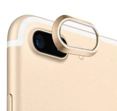 Ornament rama camera foto spate telefon iPhone 7 Plus & 8 Plus, protectie aluminiu, auriu Iphone 7 Plus, Plus 8, Ornaments, Christmas Decorations, Ornament, Decor