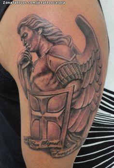 Tatuaje hecho por Juan Carlos, de Lara (Venezuela). Si quieres ponerte en contacto con él para un tatuaje o ver más trabajos suyos visita su perfil: http://www.zonatattoos.com/jctattoocarora    Si quieres ver más tatuajes de Ángeles visita este otro enlace: http://www.zonatattoos.com/tatuaje.php?tatuaje=104901