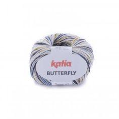 105 m Wolle 114 VERDE HOJA COTTON-MERINO - 50 g // ca CONCEPT von Katia
