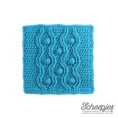 Can you believe how time flies? We're already at week 3! This week the square that we'll be making is designed by Tatsiana from Lilla Bjorn Crochet. She makes the most beautiful overlay and cable desi