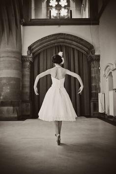 ballet wedding photoshoot