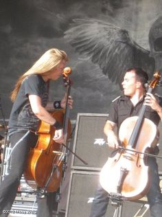 Apocalyptica! Absolutely amazing group. Love love love them!