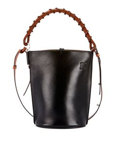 30df2e12d06c LOEWE GATE LEATHER BUCKET BAG. #loewe #bags #leather #hand bags #bucket