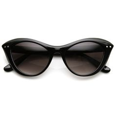 Womens Retro 1960's Fashion Era Cat Eye Sunglasses 9285 | zeroUV