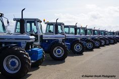 Hundreds of tractors from all over Ireland came to Ballymena for the Big 100 vintage event on Easter Saturday
