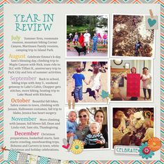 2012 Year in Review template: good idea when we want to fill in friends and family at the end of the year.
