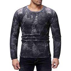 Battnot Herren Pullover O Ausschnitt Männer Fashion Casual