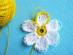 Crochet Flower Tutorial..