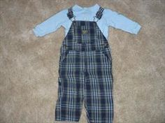 Boys OshKosh Overall set  Size 12months    List Price: $9.00