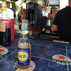 This Carib was in St Maarten