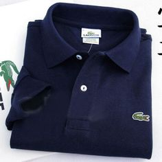 Lacoste Polo Long Sleeve Classic Shirt Navy   #CheapLacoste #CheapLacosteLongSleeve #Polos #LacostePolos #LacostePoloShirts #StylishLacosteShirts #LacosteForCheap