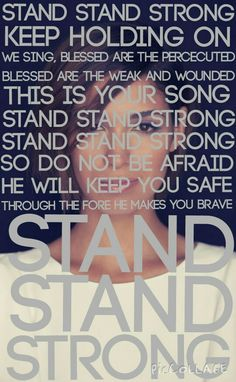 STAND STRONG - Moriah Peters