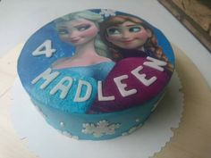 Elsa und Anna Torte!