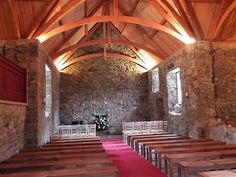 This 17th-century church near the foothills of the Pentland Hills is the spot where Claire and Jamie tied the knot. The Kirk stands in the grounds of the equally pretty Glencorse House; a popular wedding venue for modern-day couples.