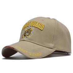 f08c1716553  SOTT  Casual USA Coast Guard Army Baseball Cap Bone US Navy Hat Snapback  Caps Men Women Balck Tactical Cap Casquette
