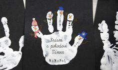 Letos budou všechna vánoční přáníčka ,,handmade,, :-) - Album uživatelky petrarizek - Foto 1 | Modrykonik.cz Christmas Craft Fair, Christmas 2016, Kindergarten Art, Craft Fairs, Animals And Pets, Activities For Kids, Diy And Crafts, Greeting Cards, Messages