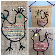 New embroidery projects for kids ideas 30 Ideas Art For Kids, Crafts For Kids, Arts And Crafts, Sewing Projects For Kids, Sewing Crafts, Creation Couture, Weaving Projects, Art Lessons Elementary, Art Classroom