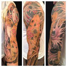 Tattoo by Jesse Tseronis. @jtseronis #jessetseronis #tatooculturemagazine #tcm #followtcm #tattoo #tattooa #ink #art #sleeve **this account is managed by @nicki_tam. Please send submissions to nicki@ tattooartistmagazine.com.