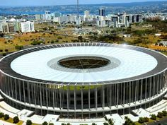 Palco da partida de estreia da Copa das Confederações, com Brasil e Japão em campo, no dia 15 de junho, o Mané Garrincha deve ficar pronto em abril. A data-limite imposta pela Fifa é 15 de abril.