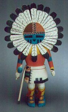 Hopi Kachina Dolls | Large Hopi Kachina doll, c.1950