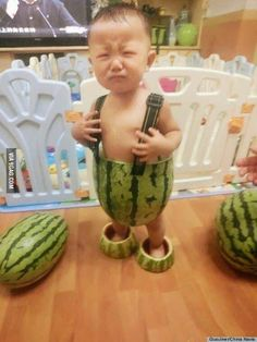 I don't wanna be a watermelon!