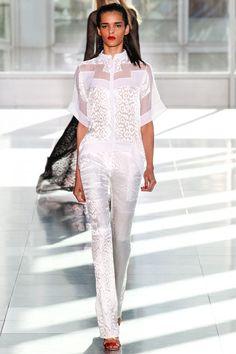 Antonio Berardi Spring 2014 Ready-to-Wear Collection Slideshow on Style.com - gorgeous top