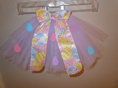 Pastel purple Easter tutu by Amberstutucloset on Etsy, $20.00