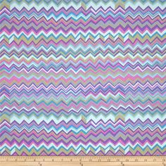 Kaffe Fassett Collective Zig Zag Grey from @fabricdotcom  Designed by Brandon Mably for Free Spirit, this cotton print is perfect for quilting, apparel and home decor accents. Colors include shades of purple, tan, blue and grey.