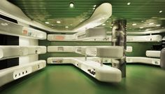 Why aren't there cool looking pharmacies like this in America? :(