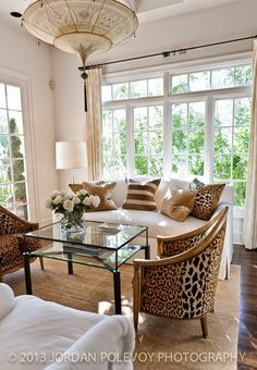 Not a big fan of leopard but like the design and big windows