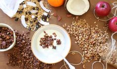 3x domácí granola G 1, Granola, Cooking Tips, Cereal, Healthy Recipes, Homemade, Vegetables, Breakfast, Food