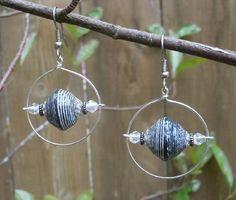 Paper Bead Earrings   Craftsy