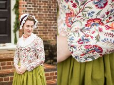 Next up in my installments of 18th century garments: my Fabulously Colored 1780s…