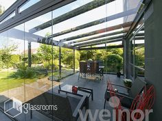 Glass rooms, Glass Roof & Terrace Cover Examples | Elegantly Designed for Home & Garden Installations | UK Glass Rooms