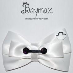 New Big Hero 6 inspired bow - Baymax! https://www.etsy.com/shop/MickeyWaffles?ref=hdr