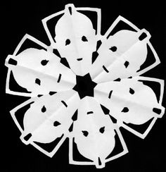 ¡The AntiCraft!  Not your average snowflake cutout