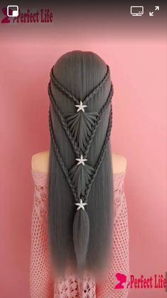 Image gallery – Page 111323422024572549 – Artofit - Coiffure Sites Fancy Hairstyles, Girl Hairstyles, Braided Hairstyles, Long Hair Bridal Hairstyles, Updo Hairstyle, Braided Updo, Hear Style, Bridal Hair Inspiration, Long Hair Video
