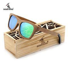 868edddba27 BOBO BIRD Bamboo Sunglasses with Polarized Lenses