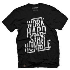 Work Hard Stay Humble Vintage Men's T Shirt