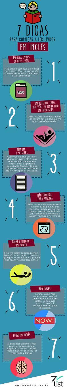 7 Dicas Para Começar A Ler Livros Em Inglês                                                                                                                                                     Mais                                                                                                                                                                                 Mais