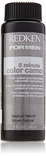 Redken 5 Minute Camo Hair Color for Men Medium Natural 2 Ounce -- Details can be found by clicking on the image.Note:It is affiliate link to Amazon.