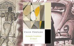 """Livro - """"Formação Econômica do Brasil"""", de Celso Furtado"""