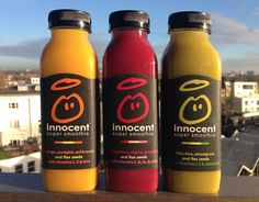 Our super smoothies. A blend of fruit, veg and vitamins. Your mum would be proud.