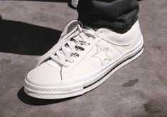 Behind The Design Of The Midnight Studios x Converse Collaboration One Star, Collaboration, Studios, Converse, Footwear, Stars, Sneakers, Design, Fashion