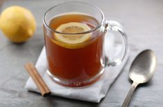 Crockpot Hot Toddy | Non-Alcoholic Mocktail Recipe  I made this with raspberry herbal tea!!  AMAZING!