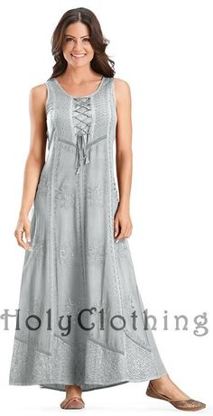 Shop Paulina Lace-Up Bustier Gothic Victorian Corset Sun Dress Gown In Silver Pewter: http://holyclothing.com/index.php/paulina-lace-up-bustier-gothic-victorian-corset-sun-dress-gown.html. Repins are always appreciated :) #HolyClothing #fashion #Lace-Up #Bustier #Gothic #Victorian #Corset #SunDress #Gown