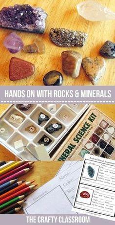 rocks and minerals test pdf